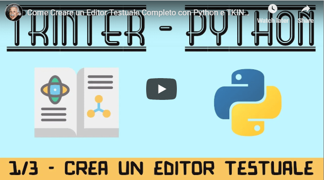 How to create a text editor in Python   pythonprogramming