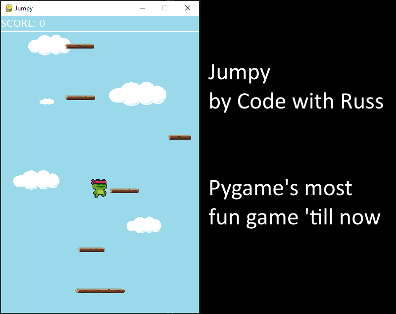 The most fun game made with Pygame