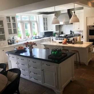 Nancy Meyers Talks Instagram Photo Of Her Kitchen Islands
