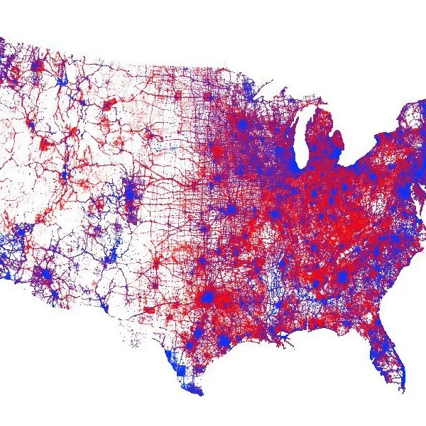 While many maps show the outcome of the 2016 us presidential election, this one illustrates how the votes were distributed across the country. A New 2016 Election Voting Map Promotes Subtlety