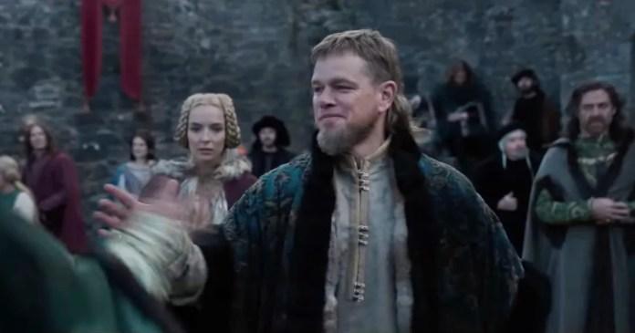 WATCH] Matt Damon, Adam Driver Fight in 'Last Duel' Trailer