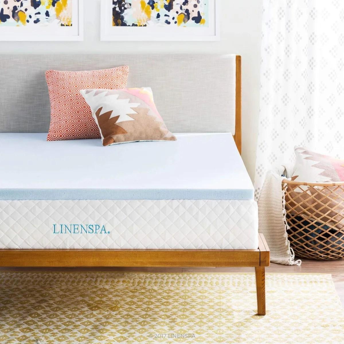 16 best foam mattress toppers 2021