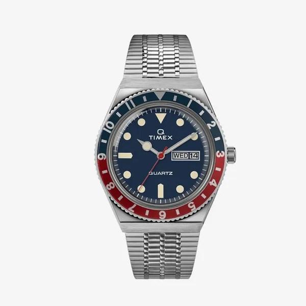 Timex Q Stainless Steel Bracelet Watch
