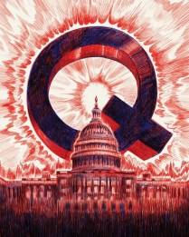 Q Over the Capitol