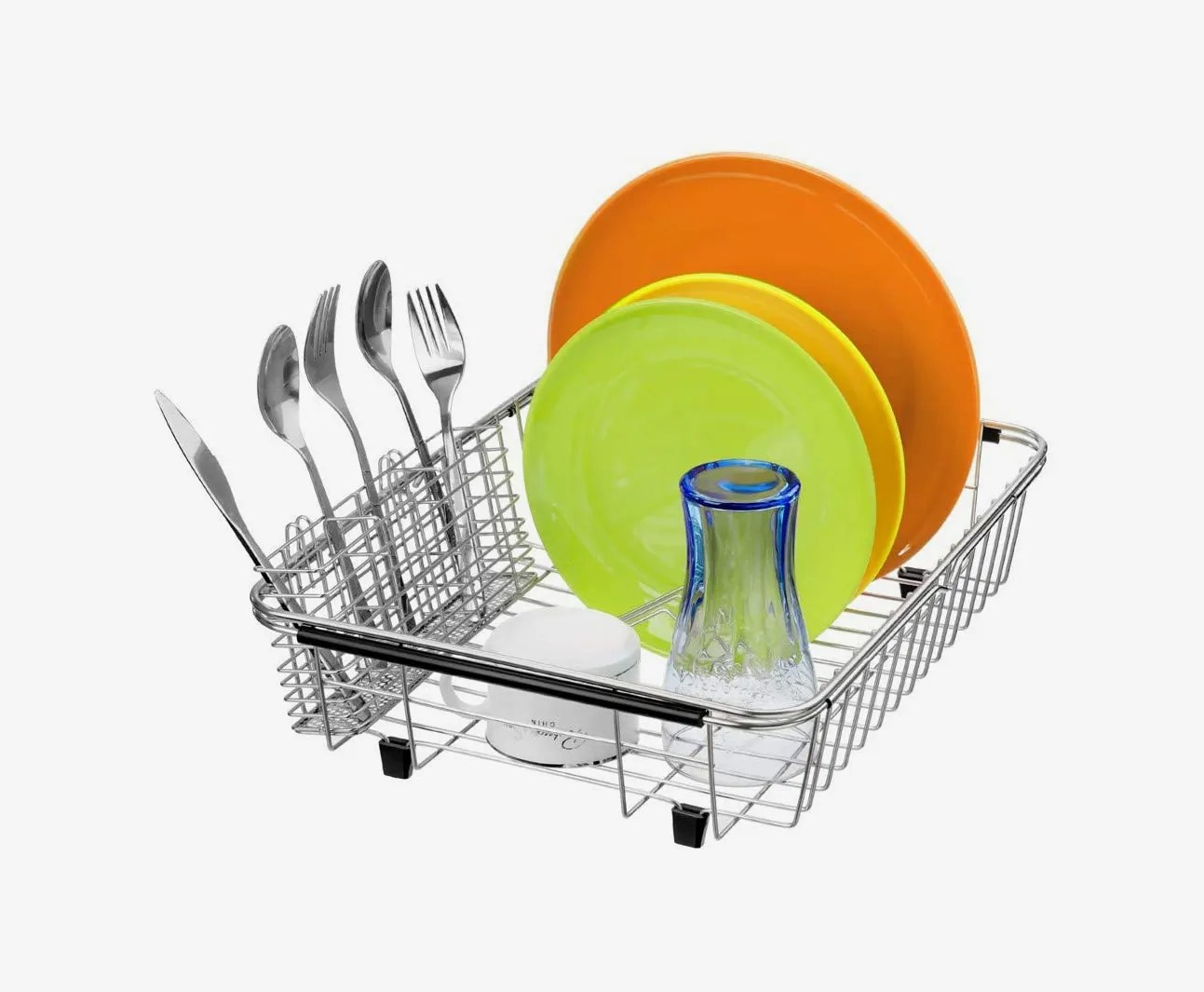sanno stainless steel dish drying rack