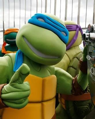 New Ninja Turtle : ninja, turtle, Michael, Ninja, Turtles, Aliens