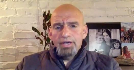 PA Lt. Gov. John Fetterman Is 2020 Election Highlight: WATCH