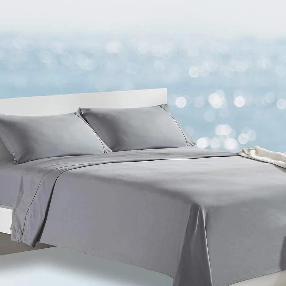 sleep zone bed sheet set cooling with nanotex moisture wicking technology