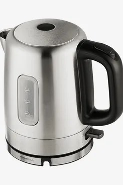 AmazonBasics Stainless Steel Electric Hot Water Kettle, 1 Liter