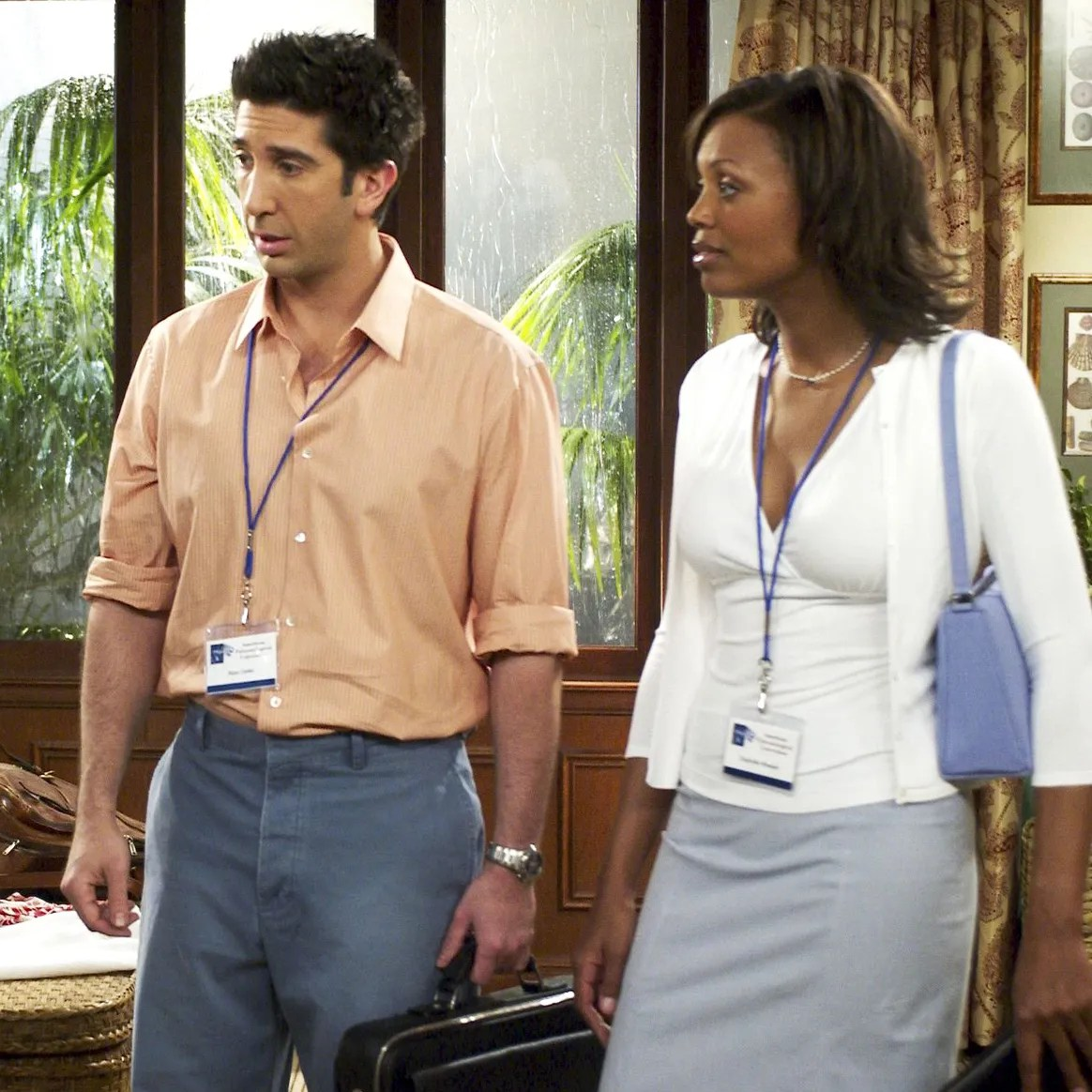 David Schwimmer Pushed Friends to Cast Women of Color