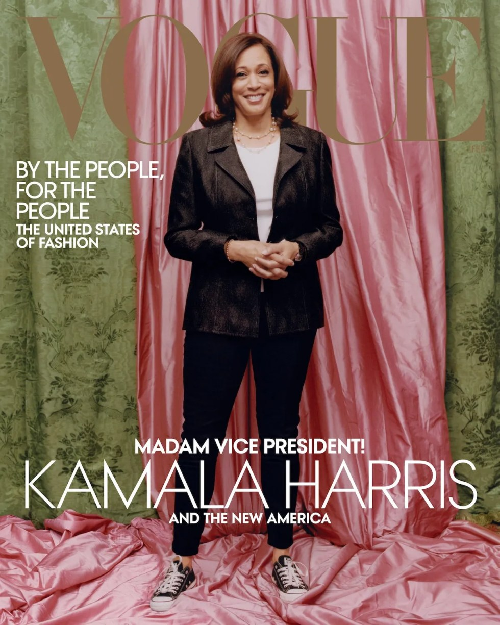 Vogue Cover Featuring Kamala Harris Stirs Controversy