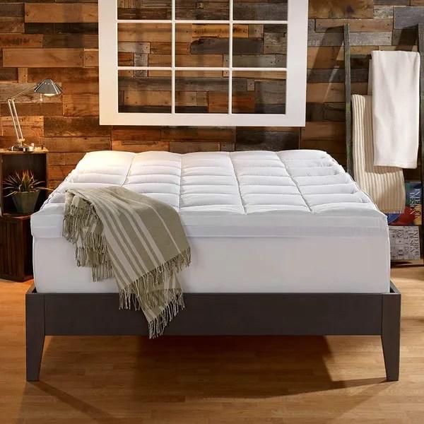 the best plush mattress topper 2020