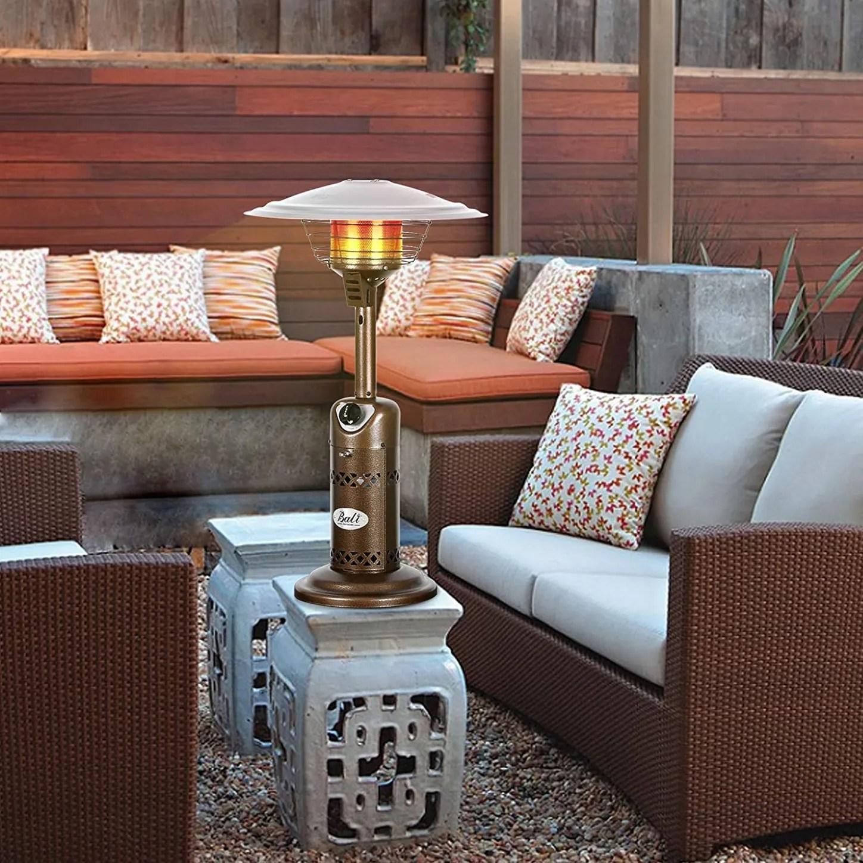 bali outdoors portable patio heater