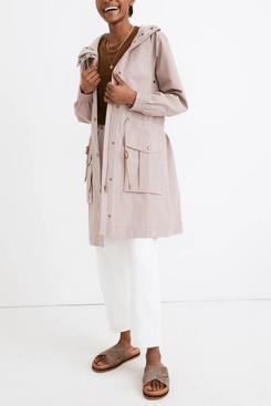 Madewell waterproof anorak rain jacket