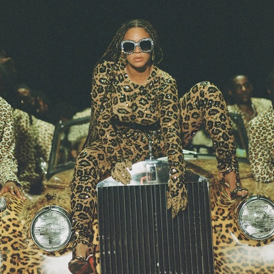 beyonce in nine images a close read