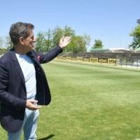 Тодор Попов: Започваме обновяването на трибуните на стадиона, ново осветление ще има догодина
