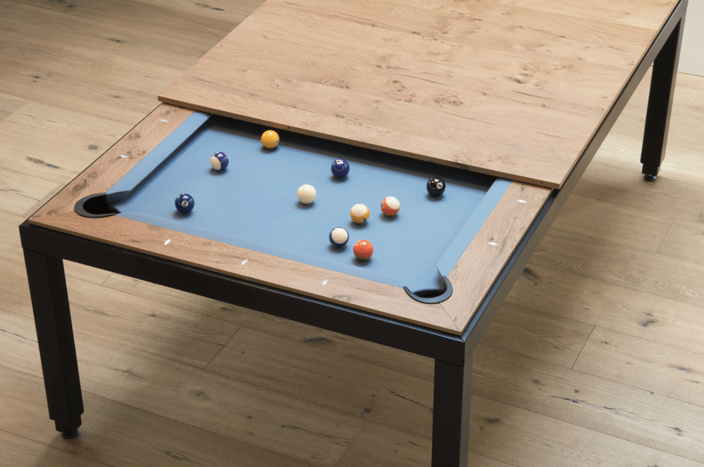 Fusion Vintage Pool Table Available from AcCueRate
