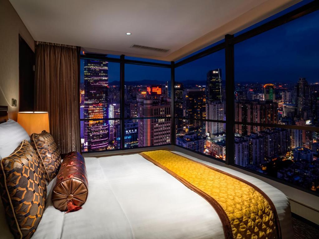 Condo Hotel Oakwood Premier Guangzhou China Booking Com