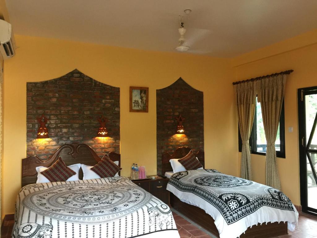 Chautari Garden Resort Sauraha Nepal Booking Com