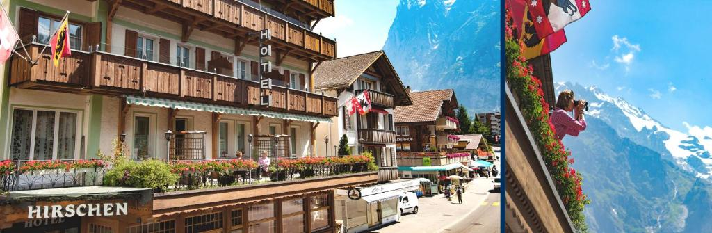 Hotel Hirschen Grindelwald Switzerland Booking Com