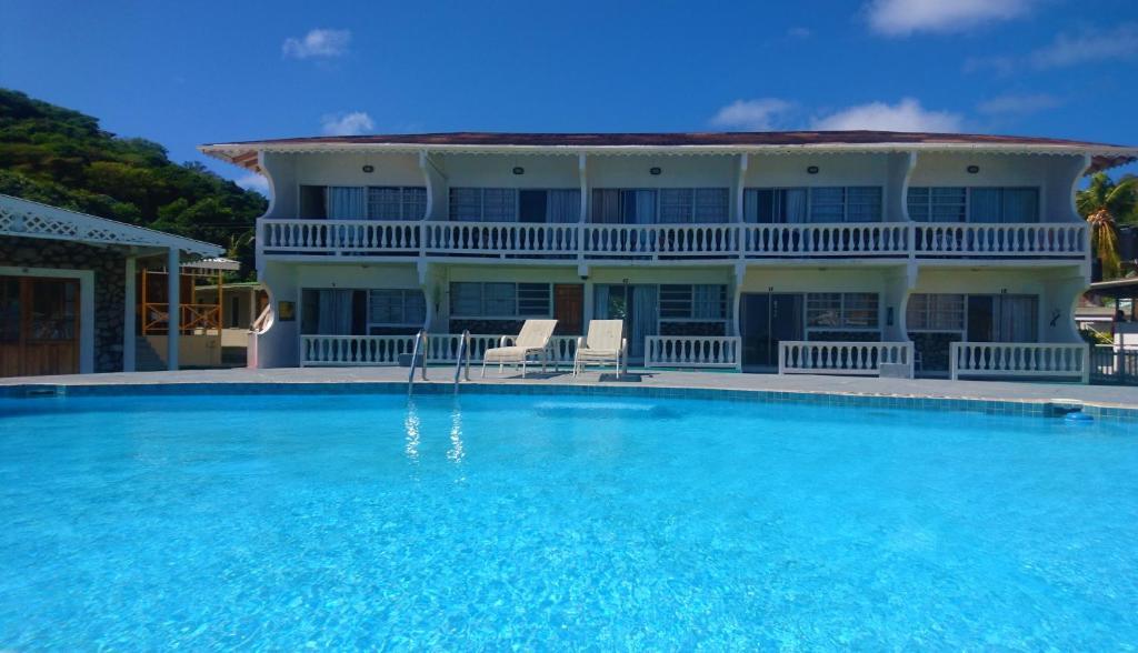 Kings Landing Hotel Union Island St Vincent Grenadines