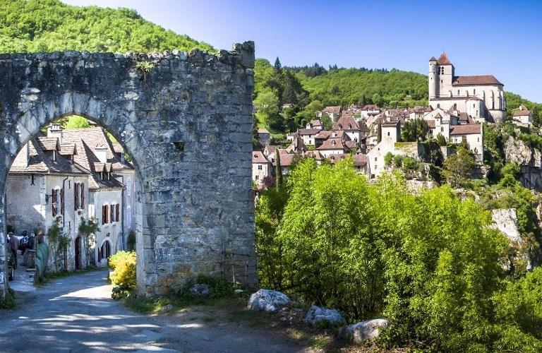 Vue sur Saintes Charente-Maritime