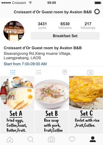 Croissant D Or Guestroom By Avalon B B Luang Prabang