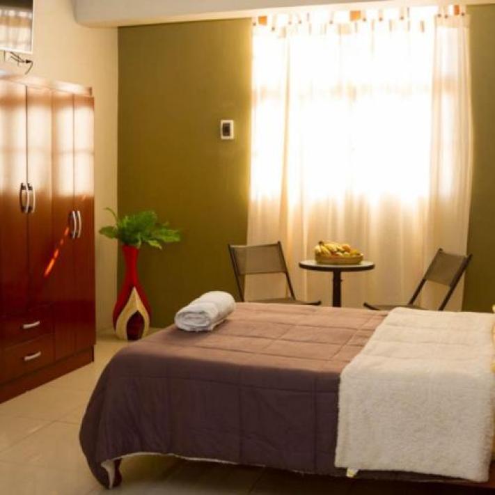 Cama ou camas em um quarto em Claudia II