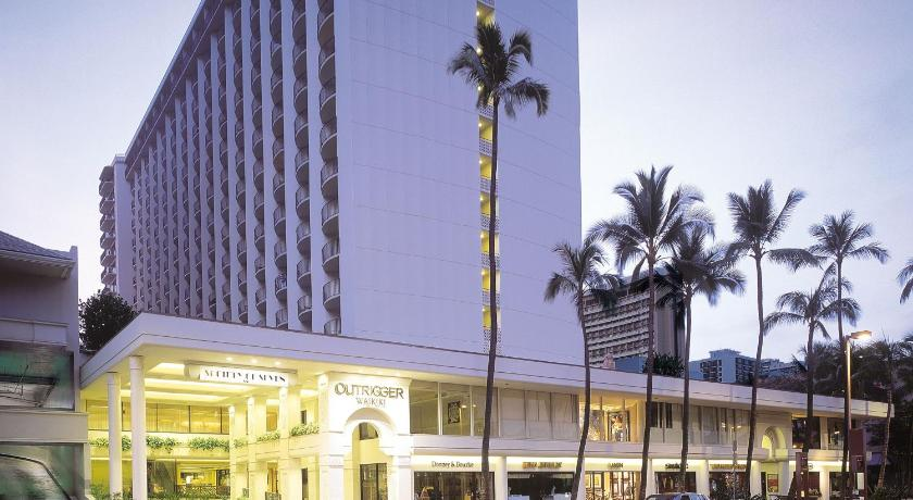 The Outrigger Waikiki, photo from Booking.com