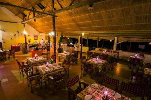 A restaurant or other place to eat at Sentrim Mara Camp