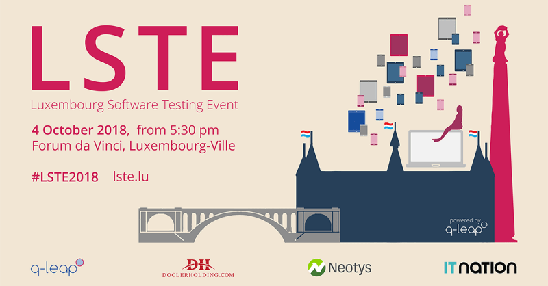 Luxembourg Software Testing Event 2018