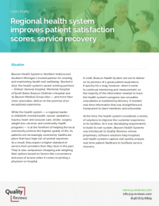 Improves Patient Satisfaction Scores