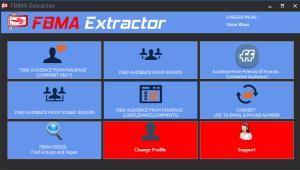 FBMA Extractor - Facebook Email Extractor & Scraper