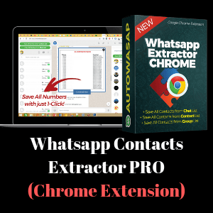 Whatsapp Contacts Extractor PRO