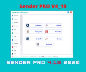 Download Now Sender Pro v4.19 2020