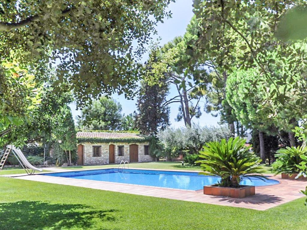 Lovely Holiday Home In Santa Oliva Spain With Garden