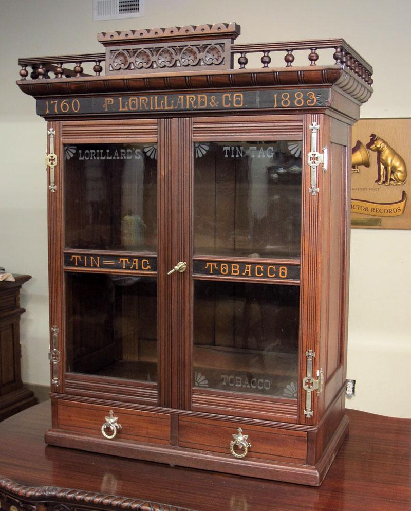 Lorillard Tobacco Company Cabinet