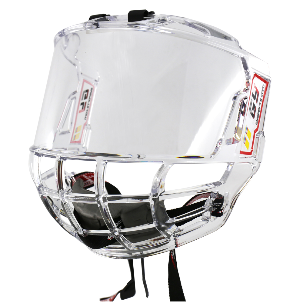 gy sports hockey helmet