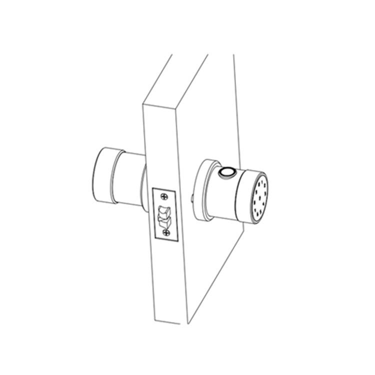 Smart App Remote Controlled Door Lock With Swing Handle