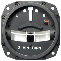 1234T100-3ATZ Turn and Slip Indicator, Model 1234T100. mid-continent avionics instruments distributor in toronto close to yyz airport
