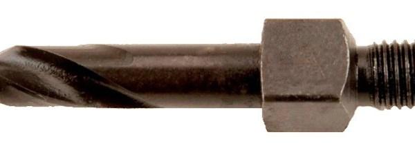 #D x 1 1/4 Cobalt 1/4 x 28 Threaded Shank Bit