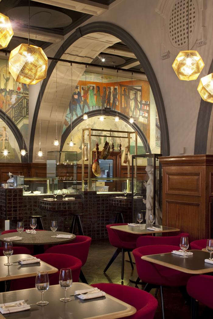 Restaurant at the Royal Academy by Tom Dixon Q2XROcom