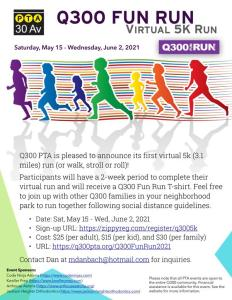 Read more about the article Q300 Fun Run 2021