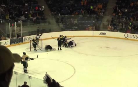 Quinnipiac men's ice hockey defeats Clarkson 6-3