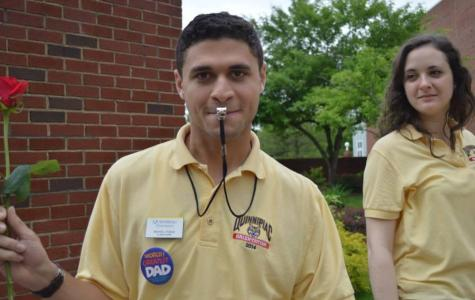 QuinniPeople: Graduate student Michael Podias transitions from Orientation Leader to Resident Assistant
