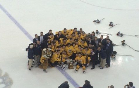 Quinnipiac wins Cleary Cup, wraps up regular season title defeating Brown 4-1