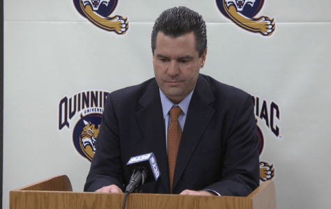 Breaking: Quinnipiac men's basketball coach Tom Moore has been fired after 10 seasons