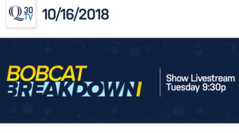 Bobcat Breakdown: 10/16/18