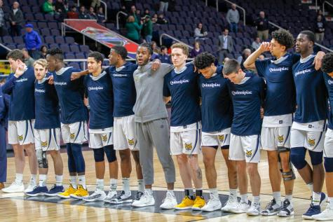 Quinnipiac men's basketball MAAC title hopes end after a 98-92 loss to Monmouth