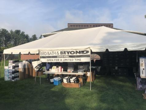 Quinnipiac Bookstore Hosting Bed Bath & Beyond Pop Up Shop for Move-In